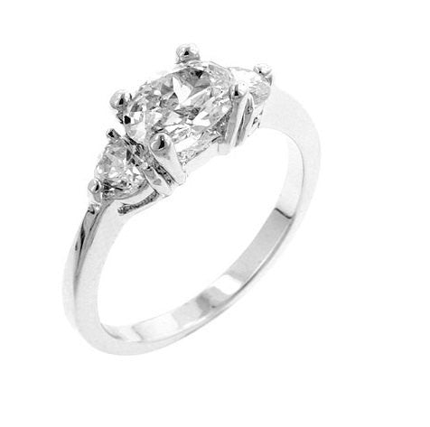 2.21ct Oval Cut Diamond Simulated Engagement Ring Wedding Band CZ 925 Sterling Silver Platinum ep