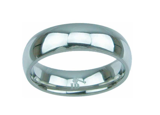 Men's Titanium Ring 6mm Wedding Band Engagement Women's Ring