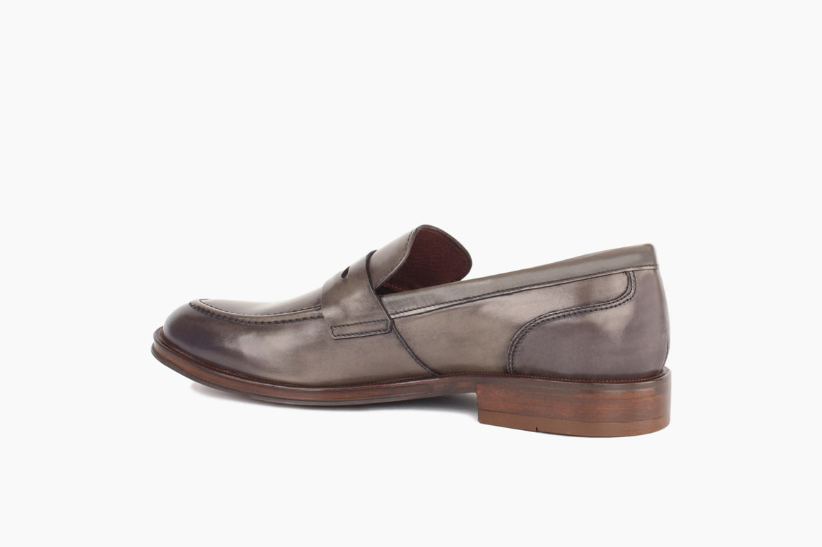Back View of Campbell Penny Loafer from Winthrop Shoes