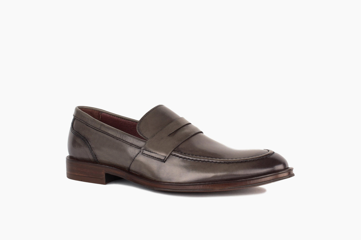 Front View of Campbell Penny Loafer from Winthrop Shoes