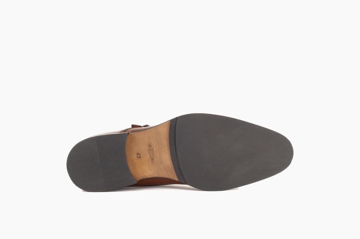 Outsole of Bradley Double Monk Strap from Winthrop Shoes