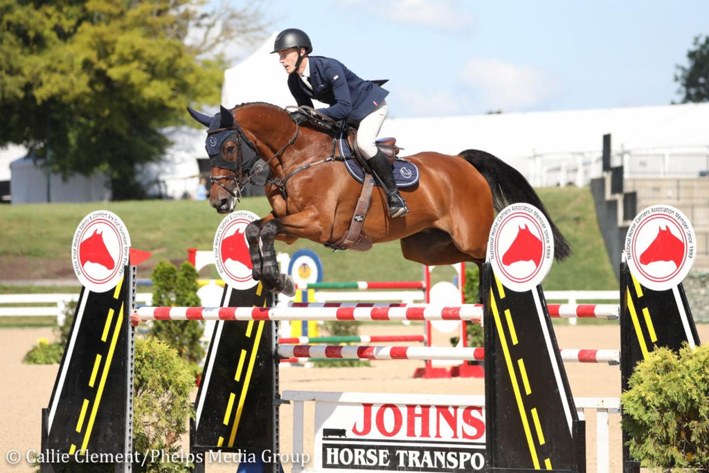 Andrew Welles Teams Up with Fenwick Equestrian Products