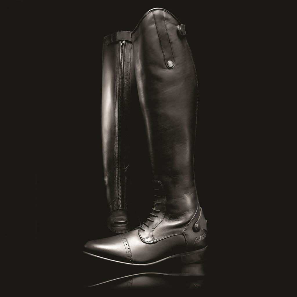 Review of the Mark Todd Long Leather Competition Field Boots by eventer Sarah Hearn