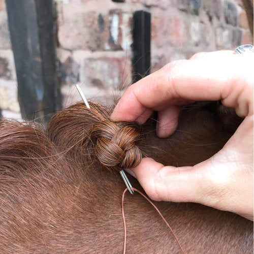 New tools to revolutionise the way you plait your horse!