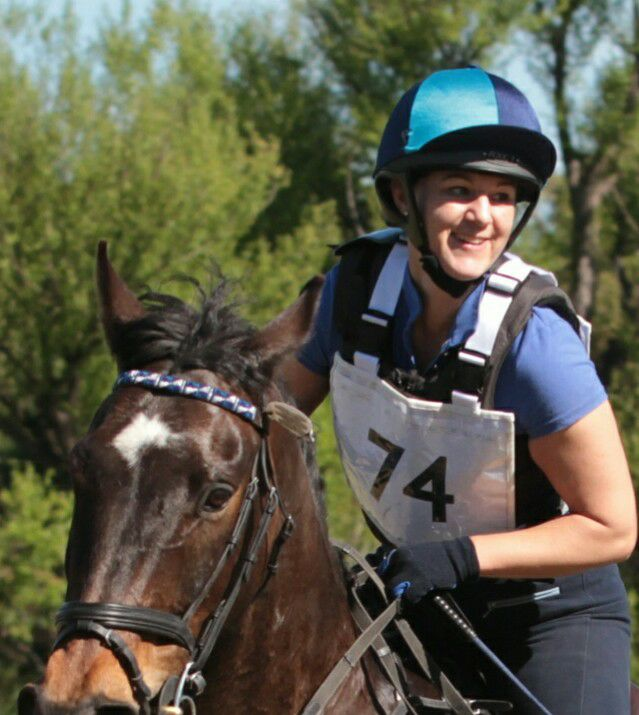 Eventer Sarah Hearn discusses Gatehouse helmets and which helmet she uses for which discipline