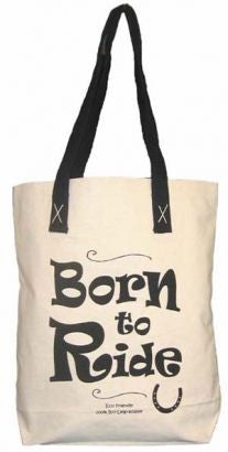 Canvas tote - Born to Ride