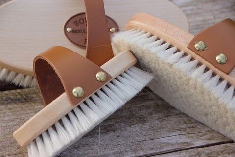 Goat Hair Finishing Brush