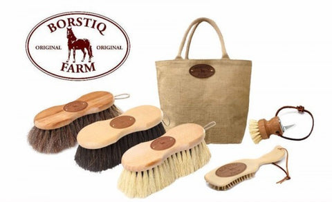 Borstiq Brush Kit - Natural (5 pieces)