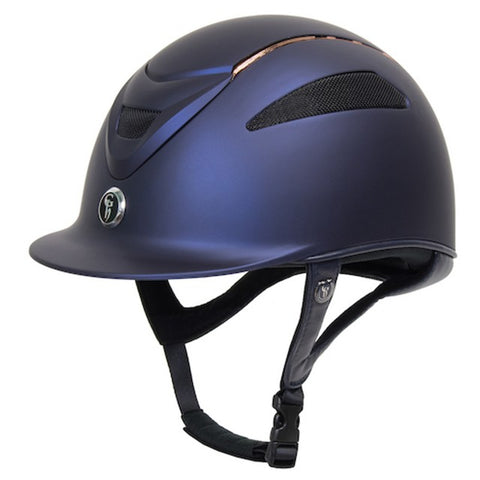 Gatehouse Conquest MKII Matt Horseriding Helmet - Limited Edition Rose Gold