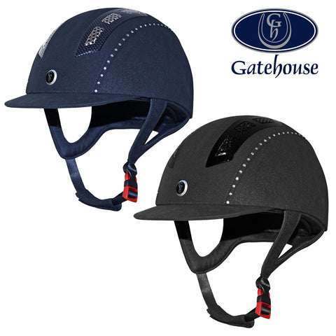 Gatehouse Chelsea Air Flow Pro Suedette Crystal Helmet