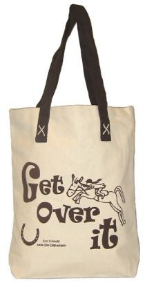 Canvas tote - Get over it