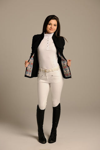 Hacks & Hills Jumper White Show Breeches