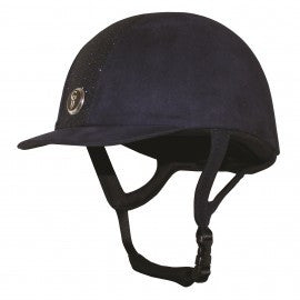 Gatehouse Jeunesse Velvet Riding Helmet with Glitter