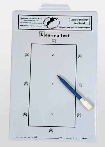 Learn a dressage test