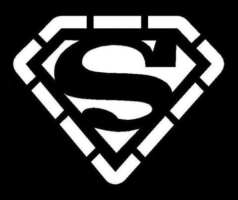Clipping stencil - Superman