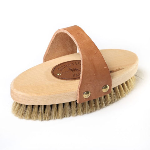 Borstiq Body Brush with leather strap - medium