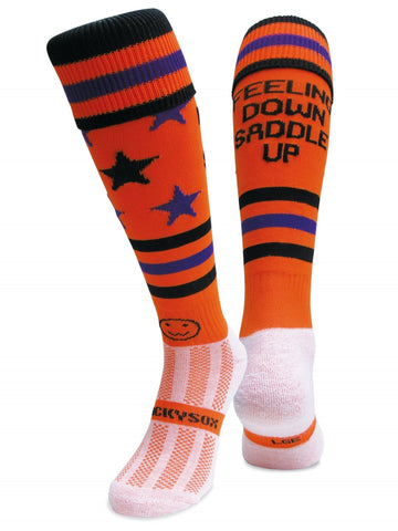 Riding socks - Feeling Down Saddle Up