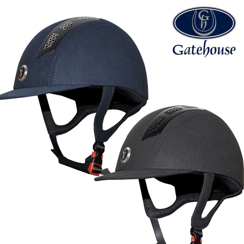 Gatehouse Chelsea Air Flow Pro Suedette Helmet