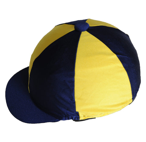 Helmet cover - yellow and navy