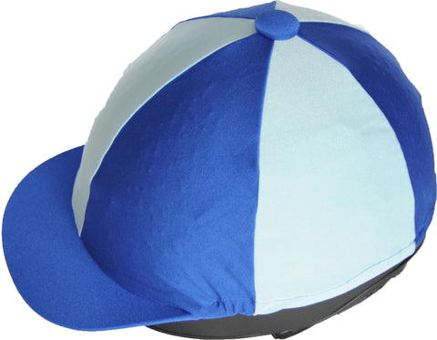 Helmet cover - light blue/royal blue