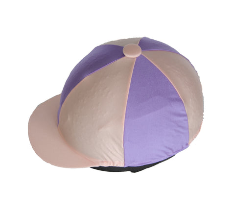 Helmet cover - Lilac and pink