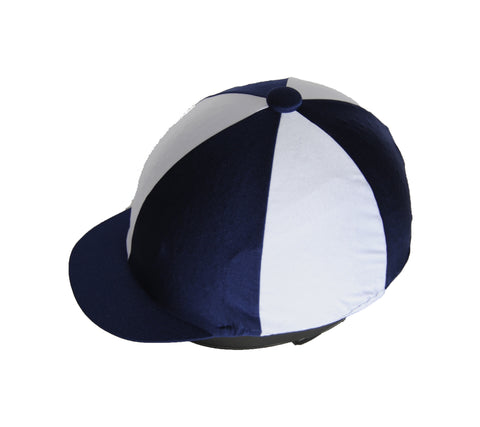 Helmet cover - navy and white