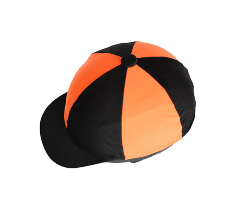 Helmet cover - Orange and black