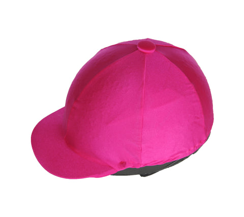 Helmet cover - hot pink