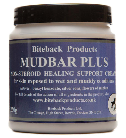 Biteback Horse 'Mudbar Plus'™ Support Cream For Wet and Muddy Skin