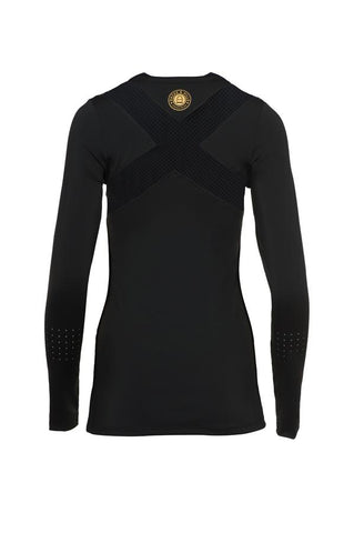 Hacks & Hills Long Sleeve Mesh Vented Equestrian Tee