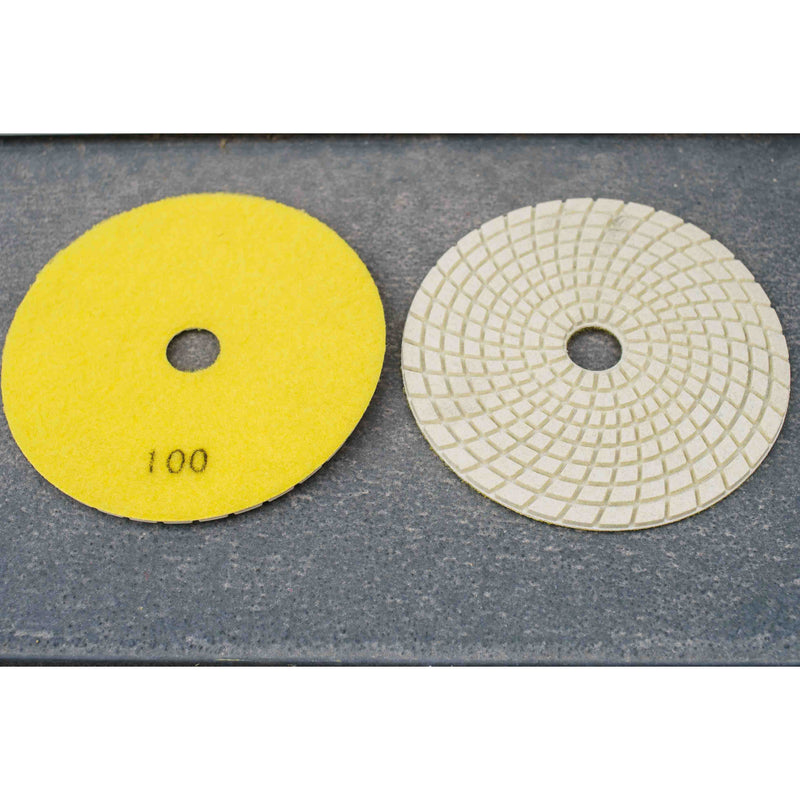 5'' Wet/ Dry Resin Polishing Pad 100 grit