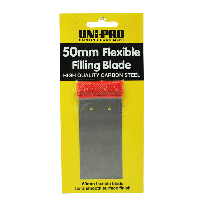 UNi-PRO Flexible Steel Fill Blade 50mm - Pop Concrete Supplies & Training