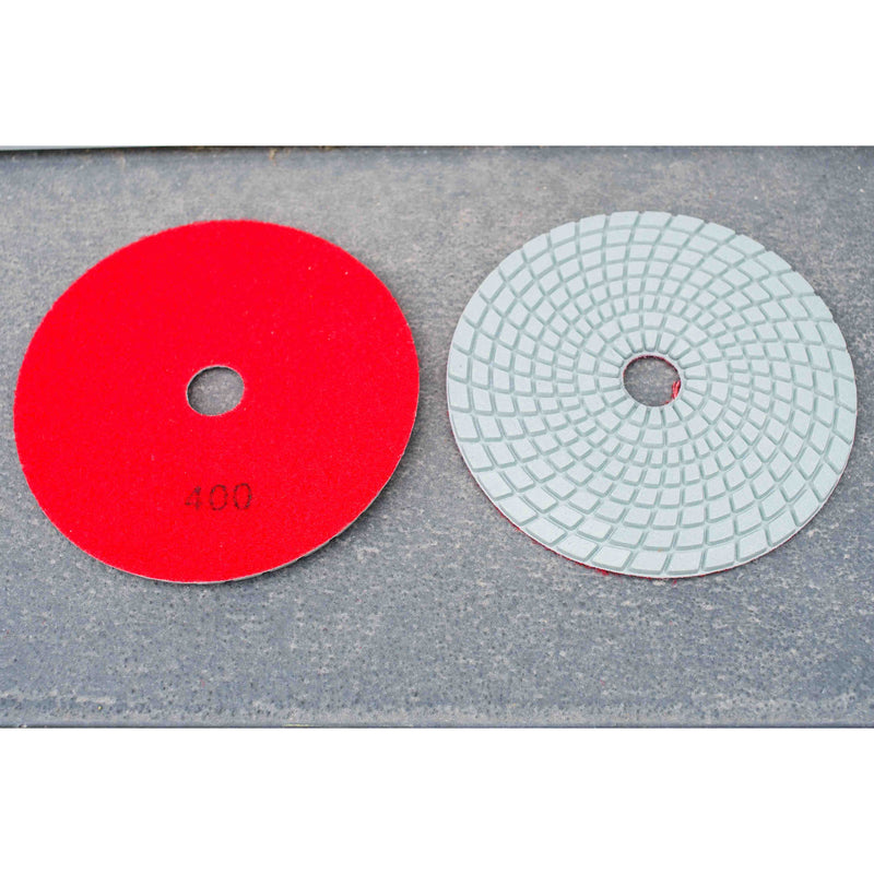 5'' Heavy Duty Wet/ Dry Resin Polishing Pad 400 grit