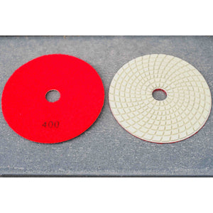 5'' Wet/ Dry Resin Polishing Pad 400 grit