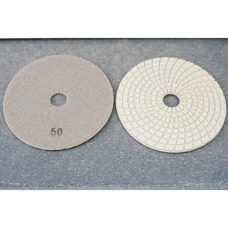 5'' Wet/ Dry Resin Polishing Pad 50 grit