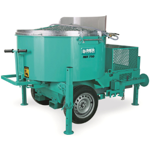 Screed, Render, Rubber, Mortar Mixer Electric Imer M750 (3 phase) - Pop Concrete Supplies & Training