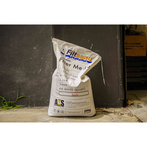 White Silica Sand - Pallet (60 bags) - Pop Concrete Supplies & Training