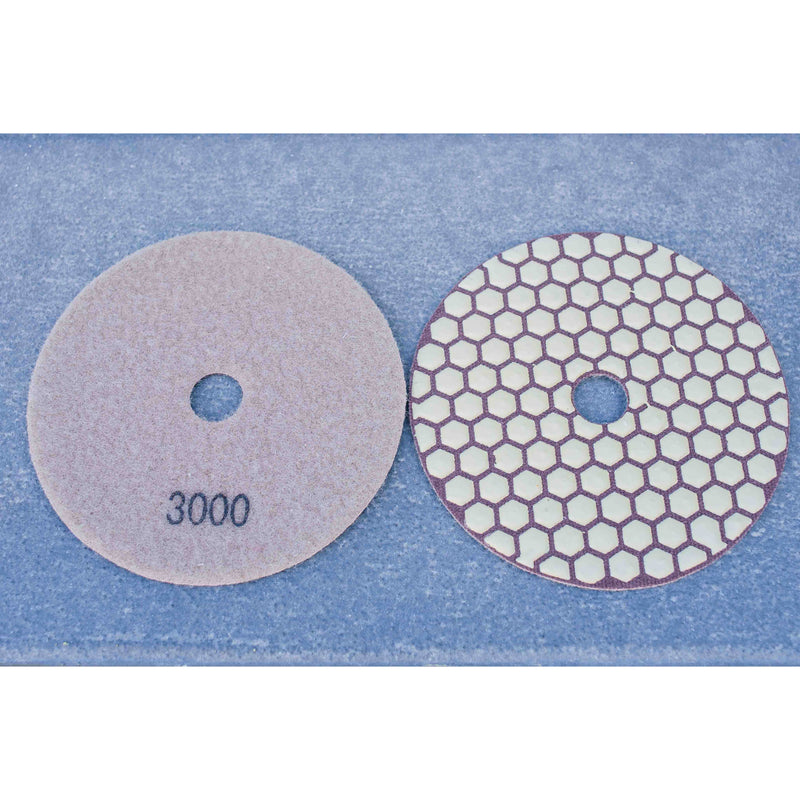 Honeycomb Dry Polishing pads.