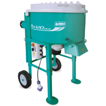Imer Screed & Mortar Mix 120 Plus - 1.4kW Motor - Pop Concrete Supplies & Training
