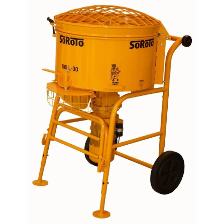 Soroto 100L Mortar Mixer - Pop Concrete Supplies & Training