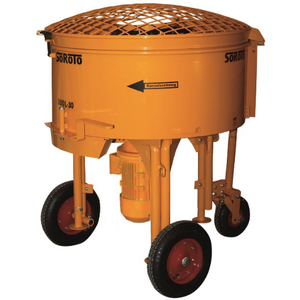 Soroto 300L Mortar Mixer (3 Phase) - Pop Concrete Supplies & Training