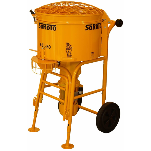 Soroto 80L Mortar Mixer - Pop Concrete Supplies & Training