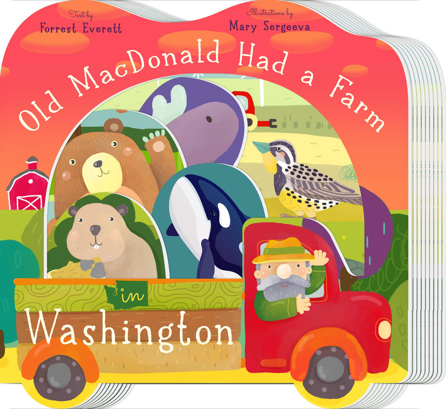 Old Macdonald had a Farm in Washington book