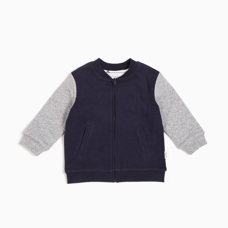 Miles Baby zip up bomber