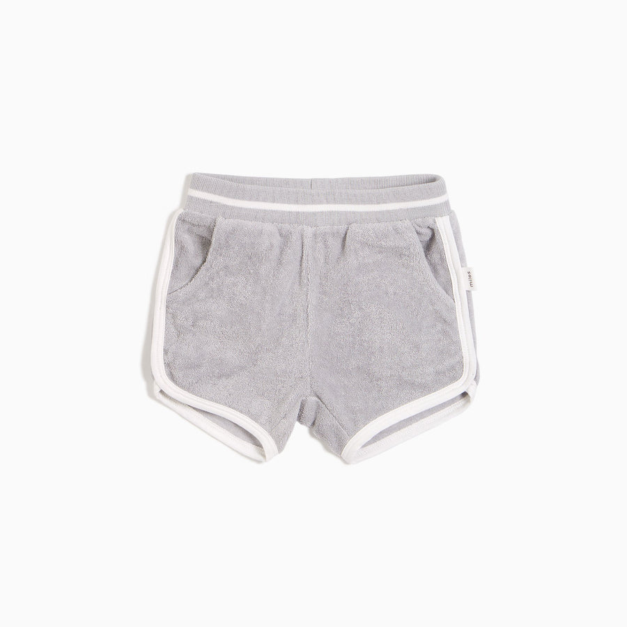Miles Baby terry shorts
