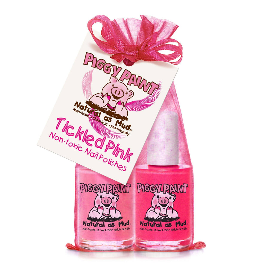 Piggy Paint tickled pink polish set