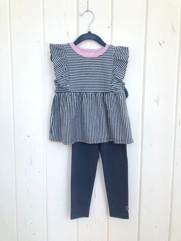 Splendid infant flutter stripe set