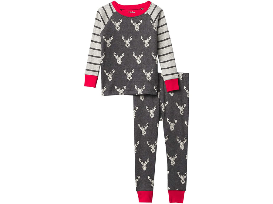 Hatley patterned stag pajamas