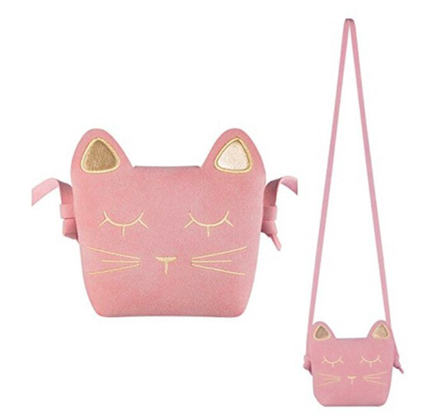 Rainbow Unicorn kitty purse
