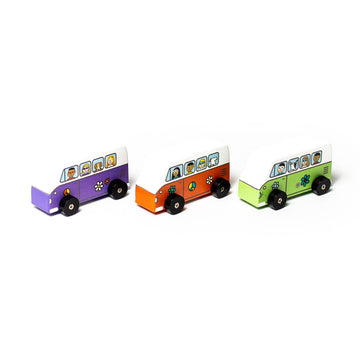 Jack Rabbit Creations love bus mini rollers